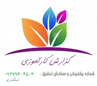 گزارش کارآموزی گزارش در مورد فاكتورهاي خريد و فروش یک شرکت