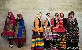 پاورپوینت آشنایی با لباس های محلی ایرانی