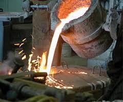 گزارش کارآموزی در یک کارگاه ذوب فلز